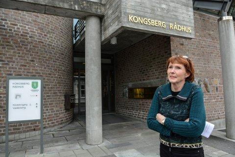 FLERE SMITTEDE: Ordfører i Kongsberg, Kari Anne Sand opplyser om tre nye smittede lørdag morgen.
