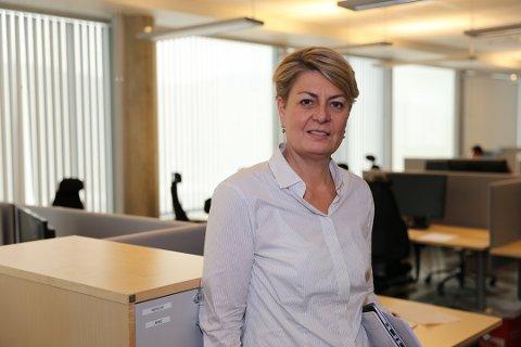 Direktør for NavVest-Viken, Inger Anne Speilberg, sier beregninger viser at om lag halvparten av de helt ledige i Vest-Viken nå er permitterte.