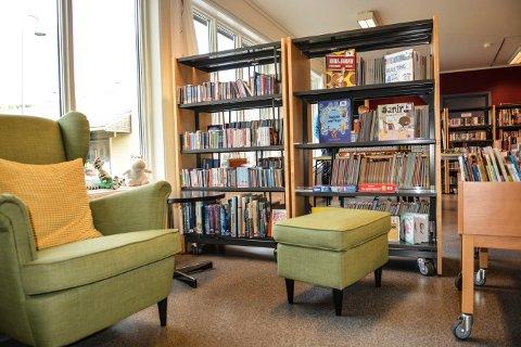 HER BLIR DET SPISESTED: De tidligere biblioteklokalene på Flesbergtunet skal bli kafe. Men hva skal lokalet hete?