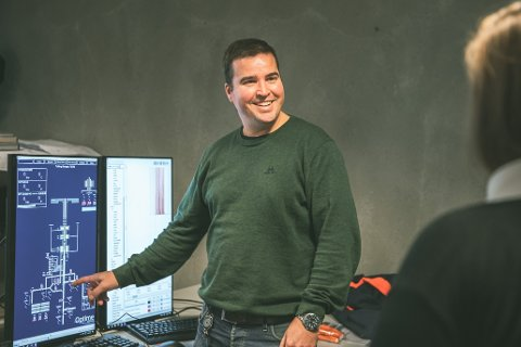 Tor Øystein Carlsen fra Kongsberg og selskapet Optime Subsea har ny utviklingskontrakt med Equinor, som krever   mer innovativ teknologi fra Optime.