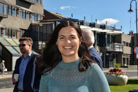 ØNSKER SAMARBEID: Regiondirektør Nina Solli i NHO Viken og Oslo, oppfordrer bedriftene til å ha mer kontakt med politikerne. Politikerne kan sette mange av rammebetingelsene.