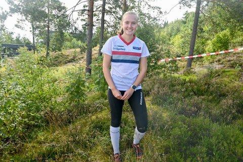SJETTEPLASS: Åsne Haavengen innledet NM-uka i Trøndelag med sjetteplass på langdistansen. FOTO: NATALIA HEINRICH