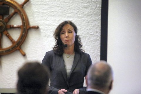 SJEF: Kristin Melsnes er engasjert som daglig leder i Flesberg elektrisitetsverk fram til neste generalforsamling.