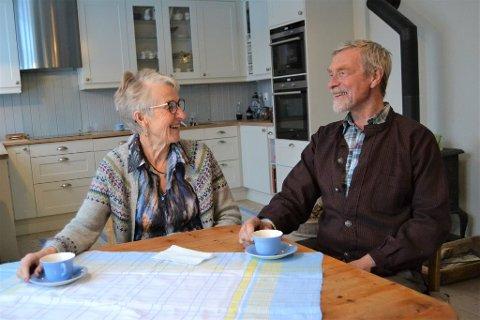 I 2019: Arve og Gudrun Tonstad Lund vant Fortidsminneforeningens bevaringspris i fjor.