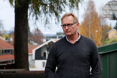 SENDT UT VARSEL: Rektor ved Vestsiden ungdomsskole, Baard Olsen, har sent ut mail om smittevernsreglene på skolen til de foresatte.