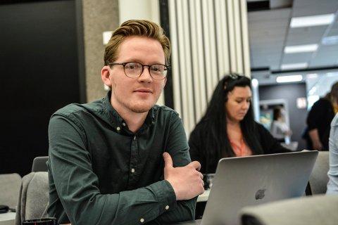 VIL PÅ STORTINGET: Even Røed (28) fra Kongsberg Arbeiderparti stiller gjerne som kandidat foran stortingsvalget i 2021.