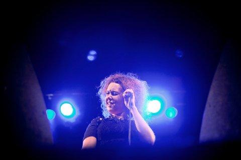 FØRST UT: Kristin Asbjørnsen holder konsert på EnergiMølla.
