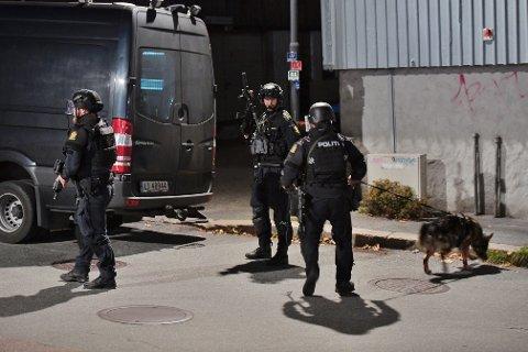 TILSYNSSAK: Fem personer ble drept i Kongsberg onsdag kveld. Nå er det opprettet en tilsynssak.
