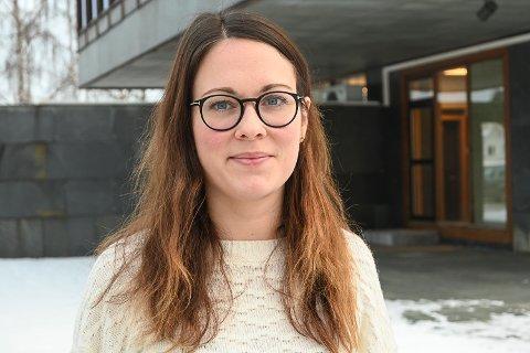 NYTT ANSIKT: Karoline Krogedal Hagen (33) begynte som rådgiver/jurist i byggesaksavdelingen i Modum 18. januar.