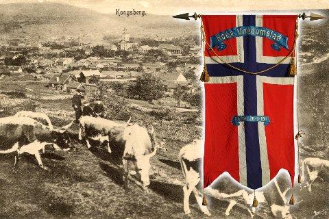 UNGDOMSLAGET: 1911 var året da bl.a. Stordalens Mineralvannfabrikk, Kongsberg Glasmagasin, A. Mathisen bakeri og konditori og Solveig Amundsen ble opprettet. Det er sikkert flere firmaer som kan føyes til listen. Men grunnen til at dette nevnes, er at Kongsberg Ungdomslag ble stiftet i 1911. Foto: ukjent/VSBs fotoarkiv
