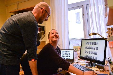 SØKER ETTERFØLGER: Janne Werner Olsrud skal blant annet finne en erstatter for Per Øyvind Østensen på Norsk Bergverksmuseum.