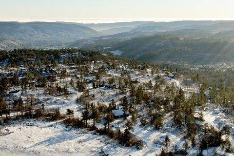 STORE OMRÅDER: Omholtfjell-området, utgjør et av de største sammenhengende hytteområdet i Kongsberg kommune. Nå planlegges utvidelser. Tre utviklere ønsker sine prosjekter inn i den nye arealplanen for Kongsberg kommune.