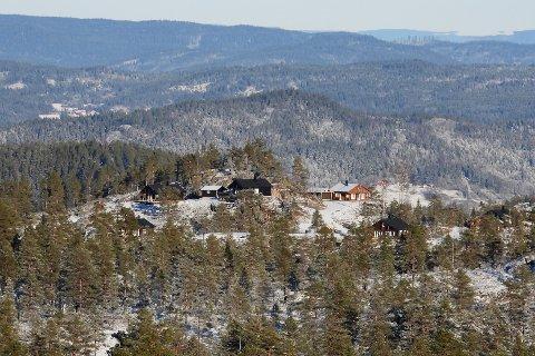 Oslofolket er de ivrigste på å kjøpe seg hytter i Kongsberg og Numedal. Men det er ikke så mange som kjøper hytte i egen kommune.