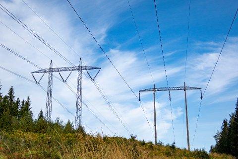 ØKES: Glitre Energi Nett øker nettleien for alle hus og hjem med innlagt strøm i Drammen.