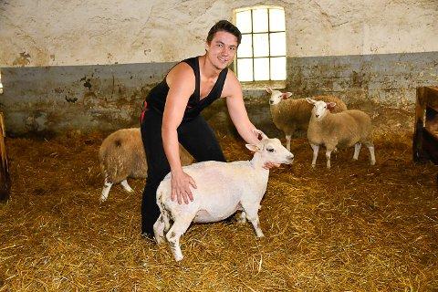 NYTT YRKE: I en alder av 25 år bestemte Erik Mayrhofer seg for å bli saueklipper.