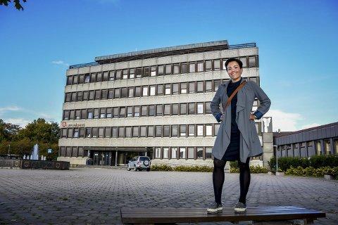MER ENN KLAR: Tirsdag ble Gunn Cecilie Ringdal konstituert som Liers nye ordfører. – Jeg blir glad av å snu meg rundt og følge hjertet, sier hun.