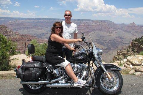 Grand Canyon gir minner for livet. Også for Kai og Nina