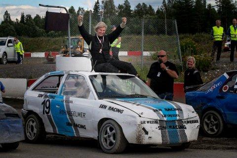 STOR PRESTASJON: Liz Wessel fra Gullaug kunne juble over landsfinale-seier på Gardermoen sist helg.