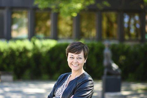 KAMPKLAR: Tove Hofstad er klar til å drive politikken, og ta tøffe oppgjør med Høyre. Men å innlede et formelt samarbeid med Arbeiderpartiet tror hun sitter langt inne.