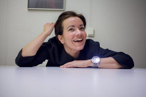 Dette er Liers nye ordfører. Gunn Cecilie Ringdal fra Høyre.