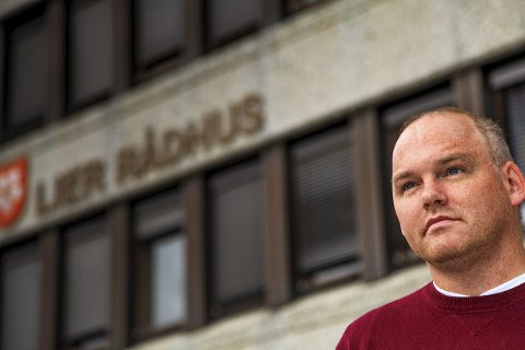 Klare ord: Toppkandidat Espen Lahnstein er klar for sin tredje periode i kommunestyret. Han har allerede slått fast at partiet vil kjempe mot en kommunesammenslåing. ARKIVFOTO: SIMEN NÆSS HAGEN