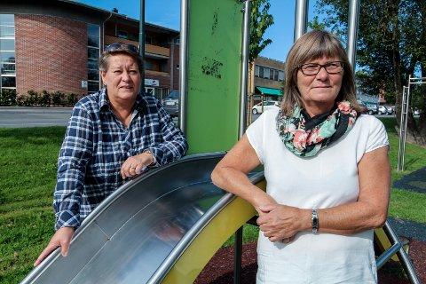 20 ER MAKS: Leder Eva Andersen i Utdanningsforbundet (t.v.) og Ap-representant i tjenesteutvalget, Anne Mari W. Eidal, mener kommunen bør ha en norm for antall elever per lærer.