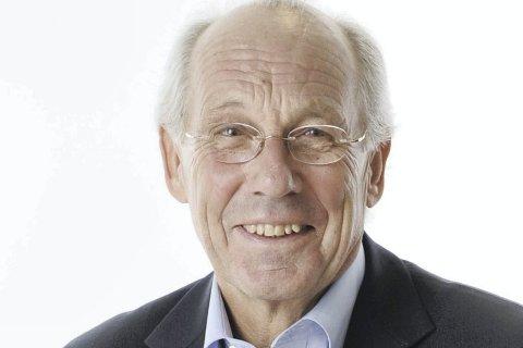 Klimaekspert: Professor Jørgen Randers vil holde innledningen til den første debatten på biblioteket.