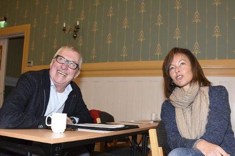 Søren Falch Zapffe og Tonje Evju