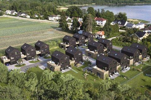 Utsolgt og omstridt: De 14 boenhetene på Linnesstranda ble raskt utsolgt, men har samtidig pådratt seg flere naboklager.