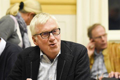 Arkitekten: Høyres Søren Falch Zapffe er som vanlig arkitekten bak budsjettforliket mellom samarbeidskonstellasjonen, og legger fram et budsjett med lite endringer fra rådmannens innstilling.