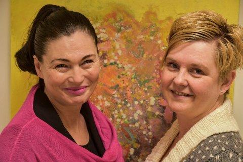 Ønsker å inspirere: Heidi Constanse Næs Bakken (t.v.) og Mona Skogheim vil dele av sitt eget inspirasjonsverktøy i foredraget Drømmereisen.