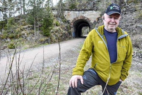 Skogbruksleder Bjørn Thrane i Viken skog