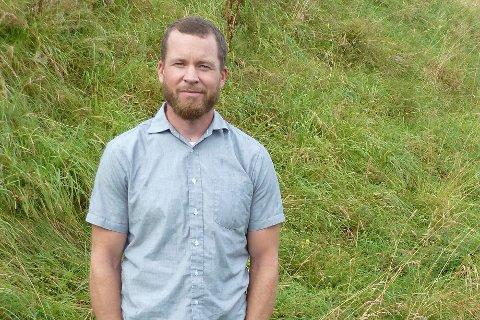NY ROMAN: Nicolai Houm (41) er ute med sin femte bokutgivelse. Etter en krevende skriveperiode, tar Sylling-forfatteren noen måneders velfortjent skrivepause.