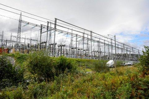 SKAL UTVIDES: Statnett ønsker å modernisere og utvide trafostasjonen på Oddevall.