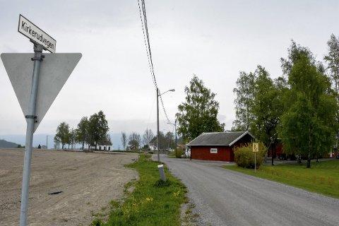 Stridens kjerne: Simen og Fridtjof Myhrene ønsker å kunne stenge Kirkerudveien i Sylling for ridende i vekstsesongen.FOTO: BENEDIKTE HÅKONSEN