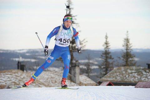 GOD START: Kristoffer Sørnes fra Stoppen fikk en god start på vinterens norgescup da han skøytet inn til en flott fjerdeplass på sprinten.