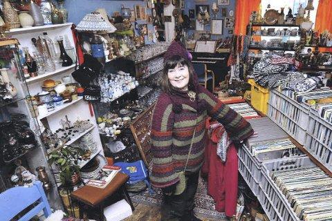 BLIR ET SAVN: Reidun Søbstad sier hun kommer til å savne både butikken og kundene når hun må stenge dørene.
