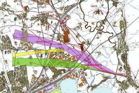 VRAKES: SVV ville planlegge for en Lierdiagonal som uavhengig av trasevalg, ville medføre store inngrep på vestsiden av E18. Nå er disse planene skrinlagt.