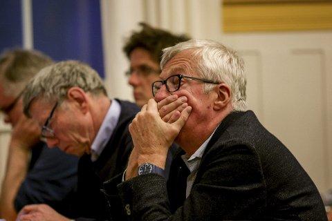 """""""Ingenting avgjort"""": Høyres gruppeleder Søren Falch Zapffe erkjenner at det kan være tolkningsforskjeller på hva som ligger i begrepet rebudsjettering."""