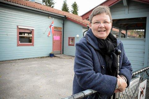 NØDVENDIG MED STØRRE TILSKUDD: Nylig avtroppet styrer Laila Kaasin i Gunnersbråtan barnehage etterlyser et skikkelig løft for barnehagene i Lier.