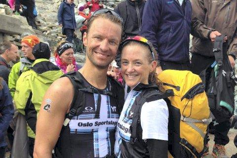 SPREKT PAR: Lars Petter Stormo og kona Trude Wermskog Stormo la svært mange av konkurrentene bak seg under VM i triatlon på Hawaii. Her er de avbildet under et tidligere løp i Norge.