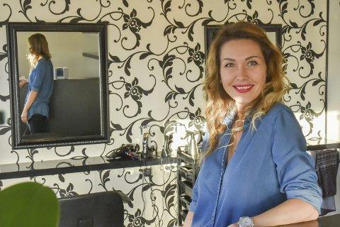 Gleder seg: Lørdag åpner Aija Kruzberga offisielt Aijas hårstudio, og alle er velkomne innom.