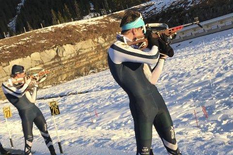 Ny sesong i sikte: løperne i Team Lier IL skiskyting er godt forberedt til en sesong, som starter til helgen.