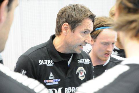 FORNØYD: Trener Glenn Solberg var fornøyd med laget i det han karakteriserte som en morsom kamp.