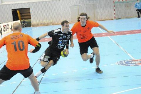 Poengjakt: I kveld tar Kim Skug og resten av St. Hallvard-laget i mot Kristiansand på hjemmebane.