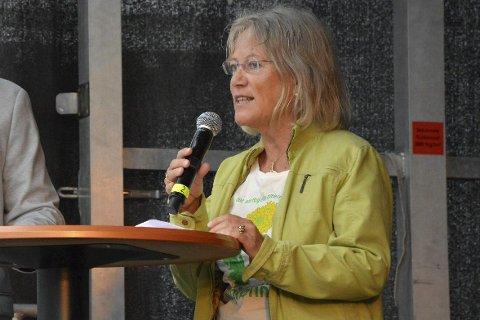 TIL ANGREP: MDGs Janicke Karin Solheim karakteriserte regjeringens flyktningpolitikk som menneskefiendtlig.