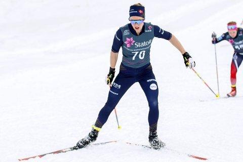 Klar for blodslit: Silje Øyre Slind er klar for Tour De ski for andre året på rad. Siden uttaket ble klart har hun gått litt ned på treningsmengden, og trent mindre hardøkter for at overskuddet skal komme.