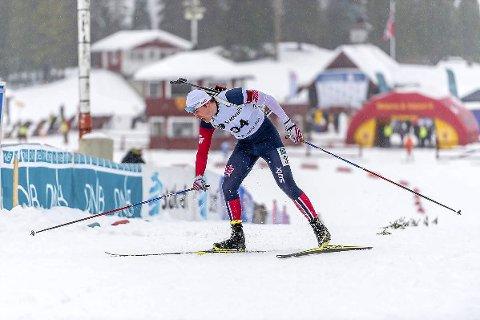 GOD GJENNOMKJØRING: Junioren Mats Øverby skjøt feilfritt og endte på en sterk 14. plass i norgescupen for seniorer.