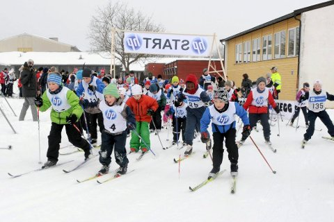 IKKE I ÅR: Manglende snømengder gjør at arrangøren velger å avlyse Hegg skifest 2017, som skulle gått av stabelen 11. februar.