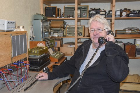 Siste samtale er tatt: Samlingskonsulent Terje Norli i Telemuseet synes det er trist at samlingen i Lierbyen forsvinner.